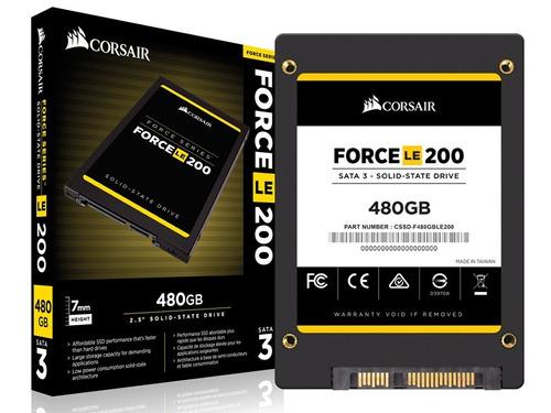 Ssd Desktop Corsair Force Le 480gb 2.5  Sata Iii 6gb/s Box