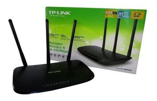 Roteador Wireless Tp-link Tl-wr940n 450mbps