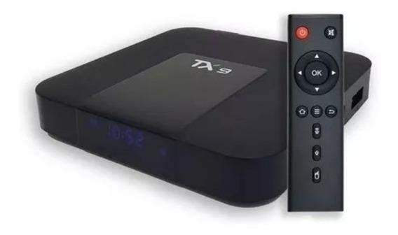 Aparelho Tx-9 Transforma Tv Comum Em Smart 16gb/2gb Envio Já