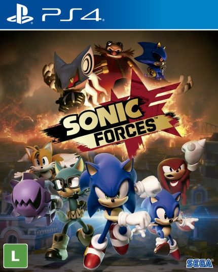 Sonic Forces Ps4 Novo Lacrado