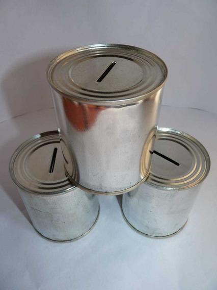 Latas Alcancias Selladas 7,5 X 7,5cm Ideal Souvenirs X 100 U