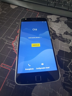 Celular Moto Z Play 32gb Preto/cinza Dual Sim
