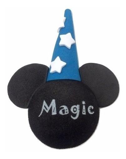 Mickey Mago Magic Enfeite De Antena Acessório Carro Moto