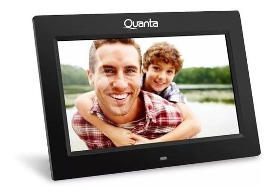 Porta Retrato Digital Quanta Tela 7 - Preto Qtprd501