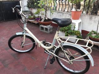 Bicicleta Plegable, Muy Poco Uso