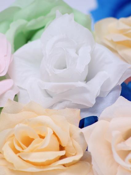 Flores De Tela Tipo D X 100 Unidades!