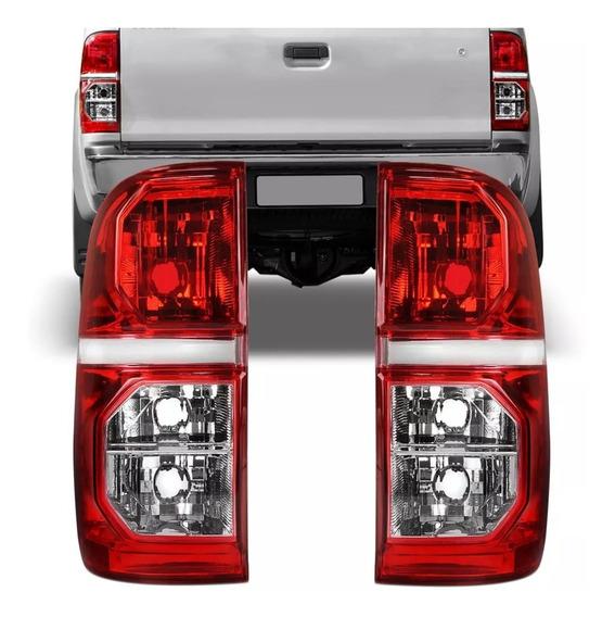 Par Lanterna Traseira Toyota Hilux Srv 2012 2013 2014 2015