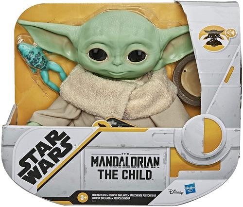 Imagen 1 de 10 de Muñeco The Child Baby Yoda Mandalorian Star War F1115 Edu