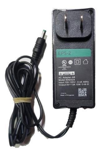 Eliminador De Corriente 5v 3a Para Dispensador, Arduino, Etc