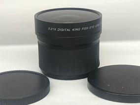 Lente Auxiliar King Fish Eye 0,21x 58mm.