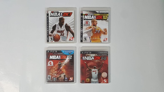 Coleção 4 Jogos Nba - Ps3 - Original - Semi Novos