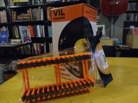 Kit Suporte P Lavagem + Escorredor Discos Vinil