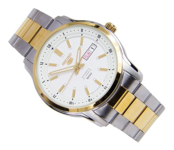 Relógio Seiko 5 Masculino Automático 21 Jewels Snkp14k1