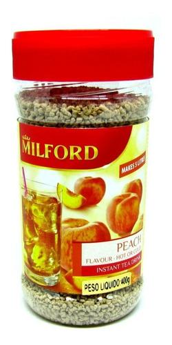 Chá Instantâneo Granulado Milford Peach - Sabor Pêssego 400g