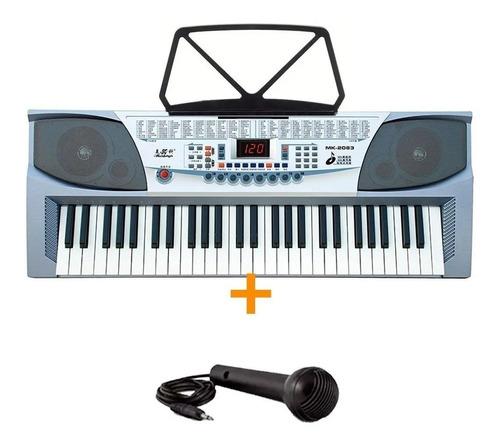 Teclado Musical Mk2083 Para Niños Y Principiantes Cuotas