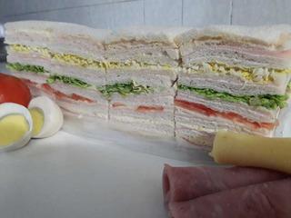 Sandwiches De Miga Triples Surtidos