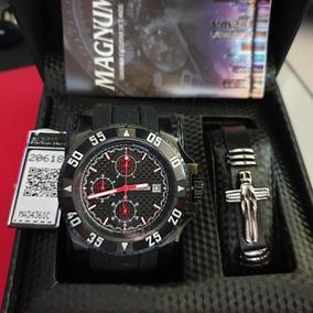 Relógio Masculino Magnum Ma34361c Cronógrafo
