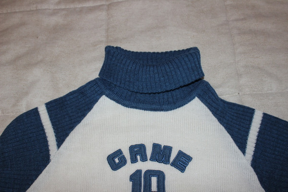 Pullover Blanco Game 10
