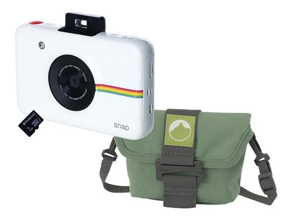 Câmera Instantânea Polaroid Snap Com Acessórios E Bolsa