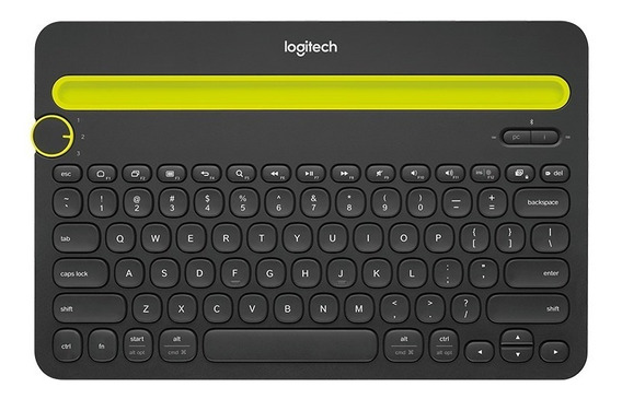 Logitech Teclado K480 Bluetooth Universal (black)