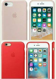 Capa iPhone 6/6s Plus Red Ou Soft Pink Original Apple
