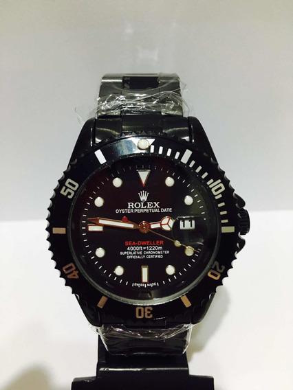 Relógio Submariner Black Caixa Maior De 45mm