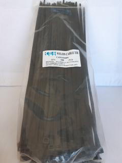 Tirrap, Tirraj, Tirraje, Amarres Plásticos 310 X 4.8mm, 31cm