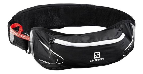 Riñonera Salomon Agile 500 Belt Set Black + Botella Hydrapak