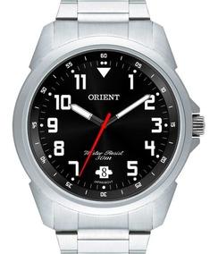 Relógio Orient Masculino Prata Preto Original Mbss1154a P2sx