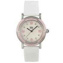Relógio Rsvp Pulseira De Cetim Sn35061p - Dumont - Branco