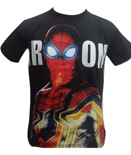 Camiseta Camisa Homem Aranha Infantil Promoção