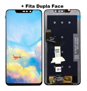 Frontal Tela Display Lcd Touch Redmi Note 6 Pro + Dupla Face