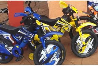 Bici Con Forma De Moto