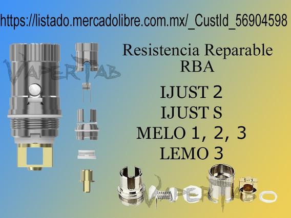 Resistencia Reparable Ijust 2, Ijust S, Melo, Envio Incluido