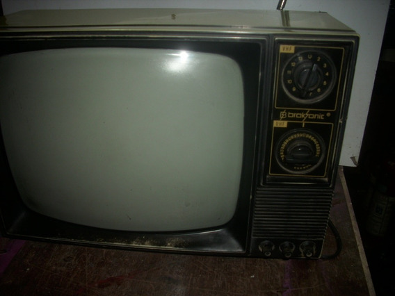 Televisao Antiga /preto Branco /brasonik//decoraçao