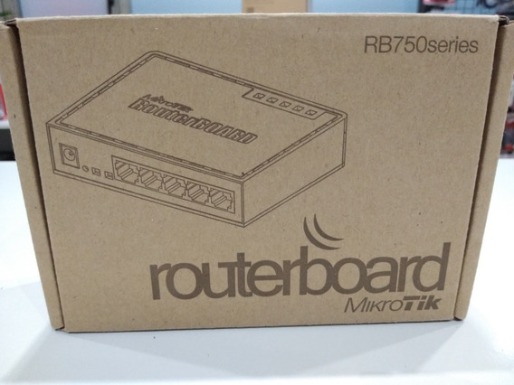 Routerboard Mikrotik Rb750series