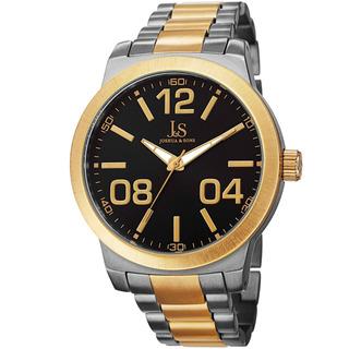 Reloj De Pulso Joshua & Sons Para Hombre Con Movimiento De