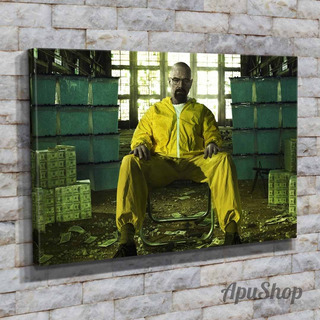 Cuadros Lienzo Canvas 45x30 Modernos Serie Tv Breaking Bad