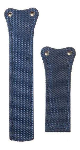 Pulseira Para Tag Bracelete F1 Em Nylon - Azul