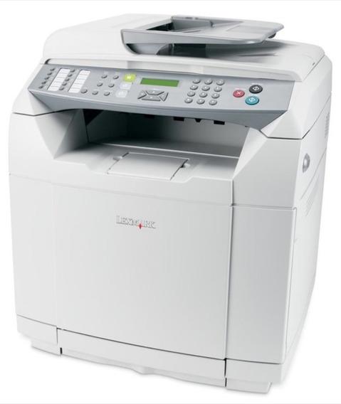 Kit 5 Multifuncional Lexmark X500n Laser Colorida S/ Toner