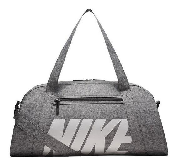Bolso Nike Dama Gym Club Gris Importado Original Ba5490017