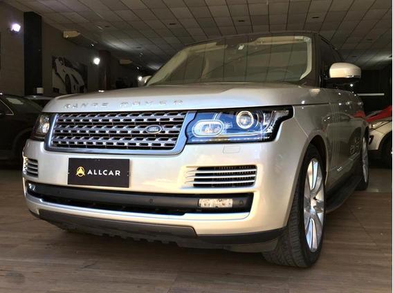 Land Rover Vogue Sd V8 Diesel C/ Teto Solar. Prata 2012/13