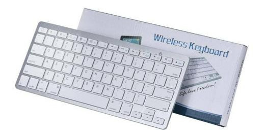 Teclado Bluetooth Sem Fio Wireless Padrão Apple iMac iPad Pc