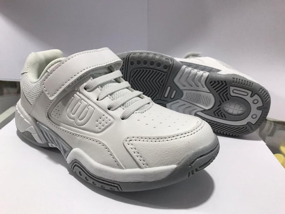 Zapatillas Wilson Junior Game Back To School Kids Ht Belgran