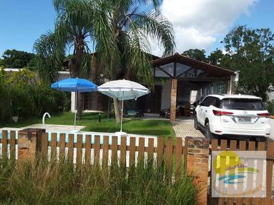 Casa Com 4 Dormitórios À Venda, 150 M² Por R$ 450.000 - Praia Das Conchas - Itapoá/sc - Ca0450