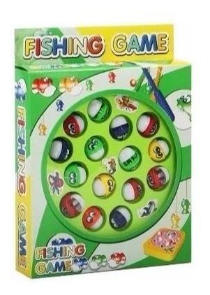 Jogo Pega Peixe Pesca Maluca Brinquedo Barato P/ As Crianças