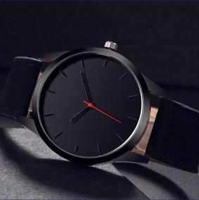 Relógio Unissex Couro - Novo