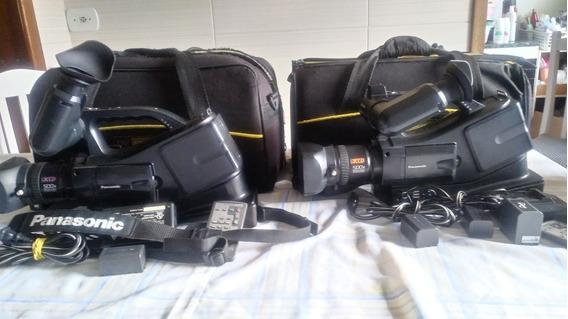 2 Filmadora Digital Panasonic Ag-dvc20p 3ccd.Saidas, Rca E