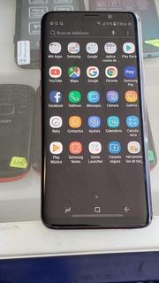 Samsung Galaxy S9 Morado Libre De Compañía Sin Detalles