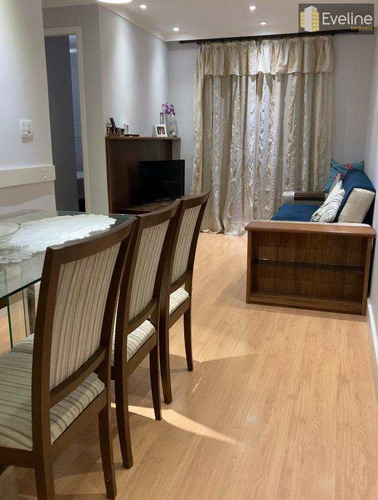 Imagem 1 de 30 de Apartamento Com 3 Dorms, Vila Mogilar, Mogi Das Cruzes - R$ 520 Mil, Cod: 1996 - V1996